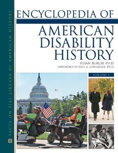 Encyclopedia of American Disability History